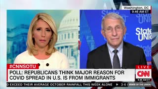 Fauci Says Immigrants Aren't Behind COVID surges...!!!