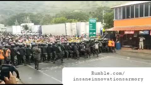 Caravan From Honduras Headed To A Sanctuary City Near You....