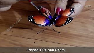 DIY Plastic spoon craft idea  Plastic spoon reuse idea Rajni's Art n Crafts