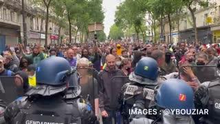 Paris 2021 Bastille Day - Macron F OFF