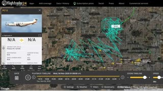 Spy plane over Arizona day of election and audit