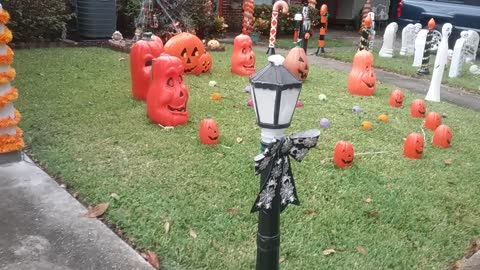Halloween Display 2017 Daytime