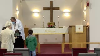 Easter Worship at Good Shepherd Lutheran Church in Rogers, Ark.