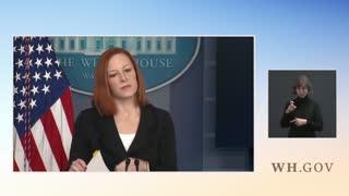 WH Press Secretary Jen Psaki On Biden Press Conference