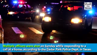 Police department in Texas says multiple officers shot