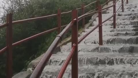 Relaxing Walk in the Rain