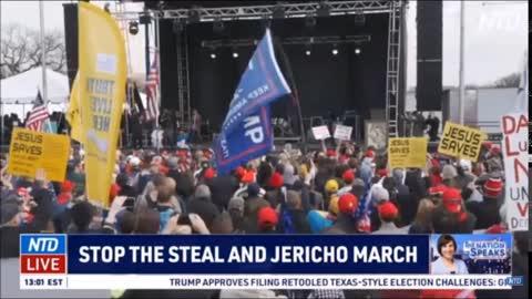 JESUS CHRIST IS KING: Alex Jones gives powerful speech at Washington D.C.'s Jericho March