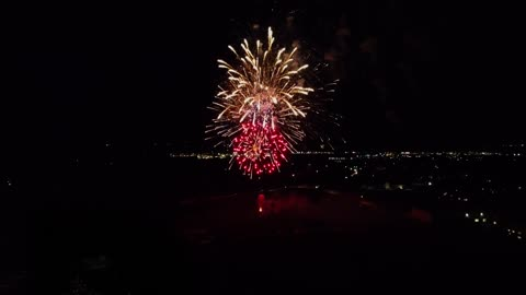 Fireworks on the 4th of July, 2020