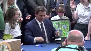 Gov DeSantis School Choice Bill Signing - Jax