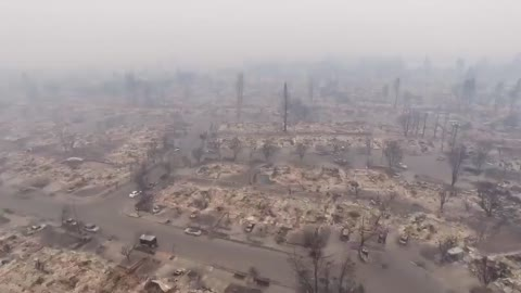 Aftermath of the Santa Rosa Fire Looks Like A Bomb Went Off