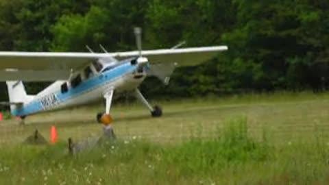 JAARS Helio Courier at Valhalla Airstrip in North Carolina