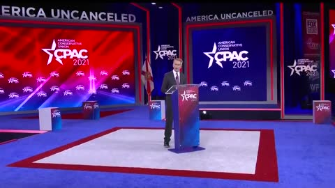 Senator James Lankford at CPAC 2021