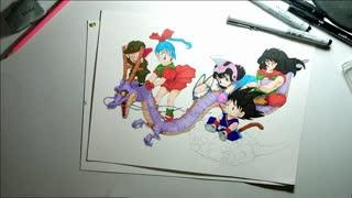 Speed Drawing: Dragon Ball