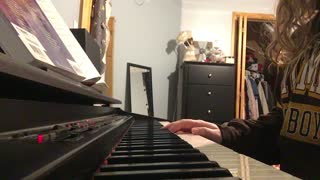 """""""My Jesus I Love Thee"""" on piano"""