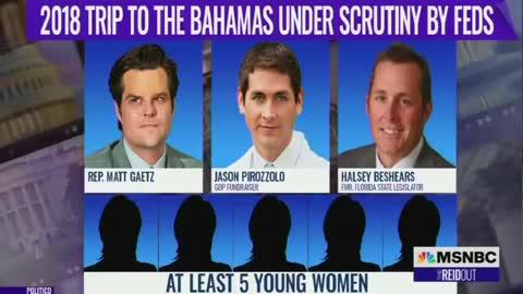 Wildly Slanderous: With ZERO Evidence MSNBC Connects Ron DeSantis to Sex Trafficking Probe