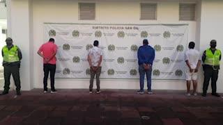 Capturan a 10 personas que estaban de fiesta en un hotel de San Gil en pleno aislamiento