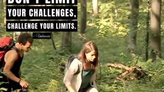 Motivational - Don't Limit Your Challenges, Challenge Your Limits