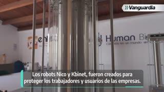 Robots Nico y Kbinet