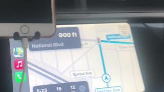 Google maps going crazy