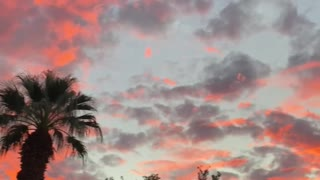 Beautiful California Sunset in La Quinta California