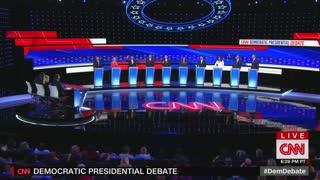 Gabbard blasts Harris at debate in Detroit