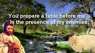 Psalm 23 / ASMR reading (Recitation 10 Times Repeat)
