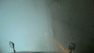 Tornado Turns over Truck on Highway