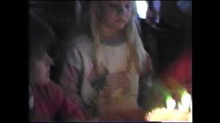 Kelly's sixth birthday