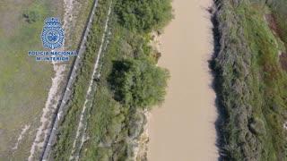 Drone Footage Shows Dramatic Spain Drug Runner Arrest