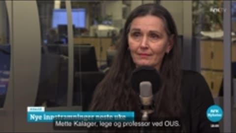 Norwegian: Bent Høie klarer ikke svare på Dagsnytt 18 (NRK)