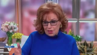 Joy Behar blames Trump for crime rising