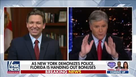 Gov Ron DeSantis on Hannity