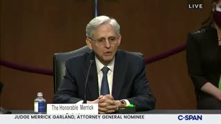 Merrick Garland's ASTONISHING Response When Asked If Crossing The Border Illegally Is A Crime