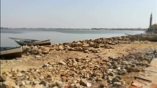 Spectacular Magic View In Qarun Lake Egypt