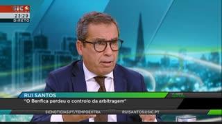 Rui Santos: «O Benfica perdeu o controlo da arbitragem»