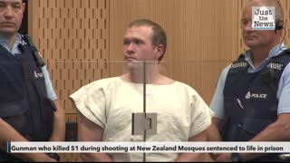 New Zealand Mosques gunman sentenced to life in prison