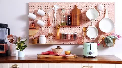 Best Design A Small Kitchen Compact Storage System Organization