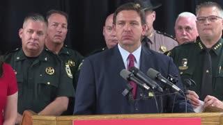 Governor DeSantis Press Conference Regarding the Border Crisis with Florida Law Enforcement 6/16/21