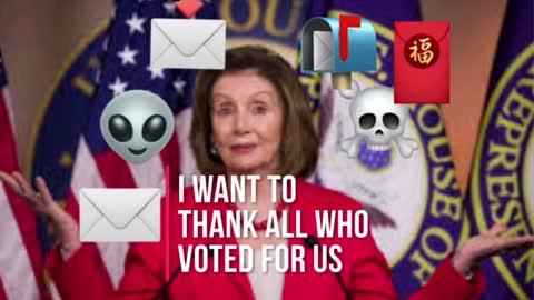 Nancy Pelosi has a spring in her step