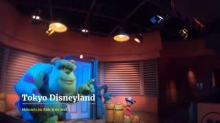 Tokyo Disneyland Monsters Inc Ride and Go Seek attraction