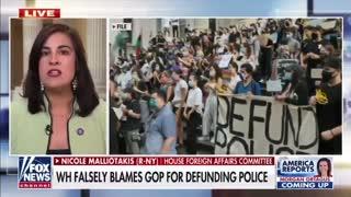 Rep. Nicole Malliotakis: The Democrats own the Defund the Police movement