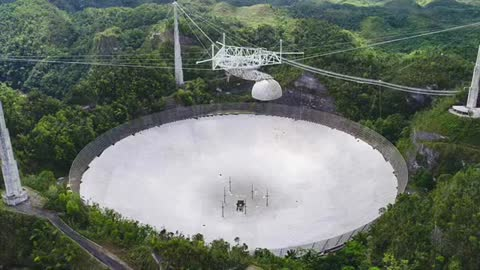 Famous Arecibo Observatory collapses