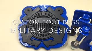 Coast Guard Jeep Foot Pegs