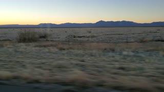 Sunrise in west Texas