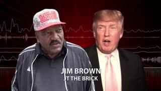 Jim Brown Praises Trump, 'I'm Pulling for the President'.