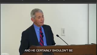 Fauci Lifts Gain Of Function Research 2018