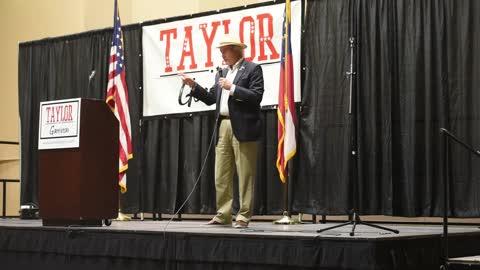 Lin Wood Endorses Kandiss Taylor at Patriots Unite Rally