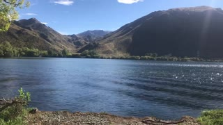 Relaxing in South Island, New Zealand