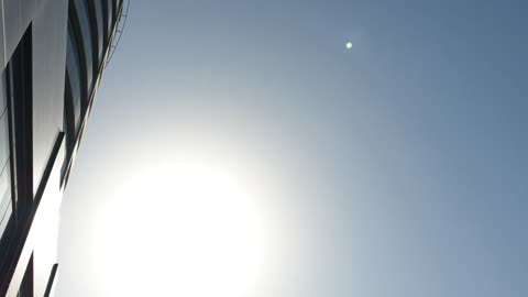 Amazing Video of the Sun, It's Reflection of the Sun with the optical lenses & the cover Glass of phone Camera lenses.