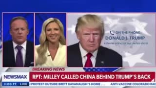 PRESIDENT TRUMP WEIGHS IN ON MILLEY!